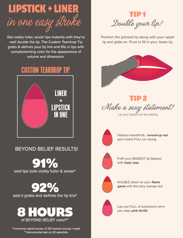 Tar lip how to applysea
