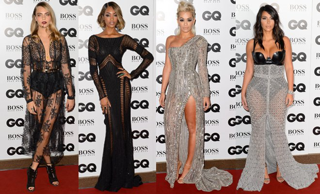 Who What Wear: GQ Men of the Year Awards 2014