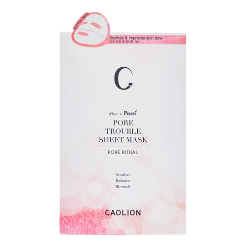 Closeup   11caolion pore trouble sheet mask 6pc web