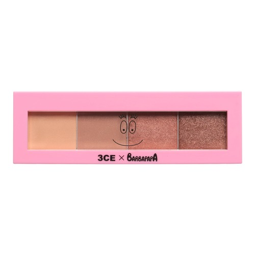Closeup   3ce barbapapa eyeshadow palette eternal