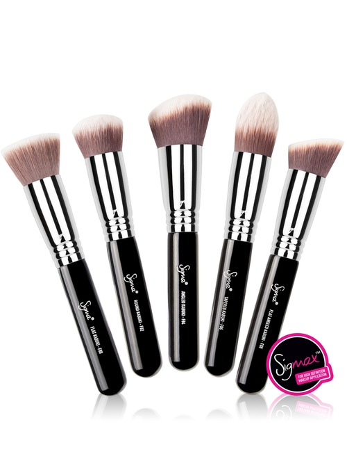 Sigma Beauty Best Of Sigma Beauty Brush Kit 122 Value: Buy Sigma Beauty Sigmax® Kabuki Kit 5 Brush Set 210g