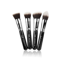 Synthetic Kabuki Kit 4 Brush Set